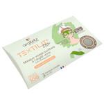 Masque Textilit Argile Verte : Masque visage prêt à l'emploi