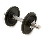 Haltère 5Kg : Set d'haltères musculation de 5kg