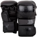 Charger Sparring Gloves Black / Black : Gants de MMA