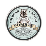 Mr Beard Family Pomade Matt Clay : Pomade pour cheveux