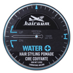 Hairgum Water+ Pomade : Cire pour cheveux - Fixation forte