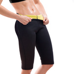 Slimming Cropped Leggings : Short de sudation