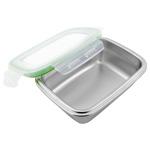 Steel Lunch Box : Boîte repas en acier