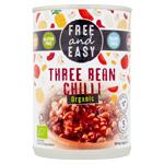 Three Bean Chilli : Plat préparé aux haricots sauce chili bio