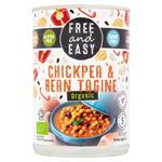 Chickpea & Bean Tagine : Plat préparé tajine de pois chiches et haricots bio