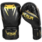 Impact Boxing Gloves Black Gold : Gants de boxe