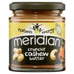 Crunchy Cashew Butter : Beurre de noix de cajou crunchy