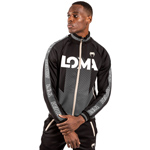 Arrow Loma Track Jacket Black White