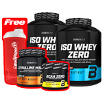 Iso Whey Zero Mega Pack : Isolat de protéine de Whey
