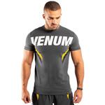 T-Shirt One FC Impact Yellow Grey