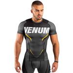 Rashguard One FC Impact Grey Yellow : T-shirt de compression