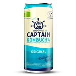 Captain Kombucha Original : Boisson au thé vert fermenté pétillant