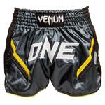 ONE FC Impact Muay Thai Short Grey Black : Short Venum