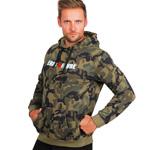 Sweat Capuche Camouflage : Sweat à capuche