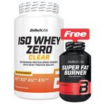 Iso Whey Zero Clear Pack : Isolat de protéine de Whey rafraîchissante