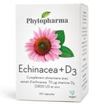 Echinacea + D3 : Echinacea en capsule