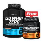 Iso Whey Zero Pack : Isolat de protéine de Whey