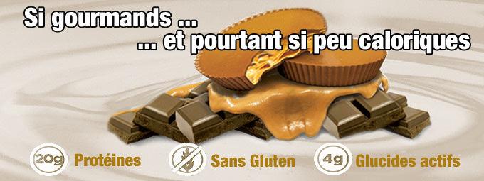 Nouveau : Deux d�licieux biscuits riches en prot�ines par Quest
