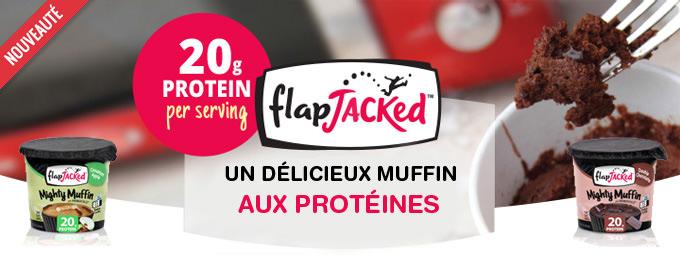 NOUVEAU un muffin aux prot�ines, pr�t en 35 secondes !
