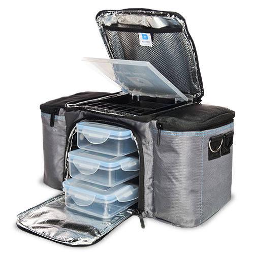 Bolsa Para Levar Comida Fitness : Be fit bag sac isotherme avec compartiments ? repas de