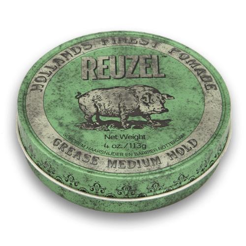 Reuzel Green Medium Hold Cire Pour Cheveux De Reuzel