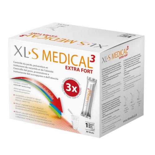 XLS Medical Extra Fort : Capteur de graisses en sachets de