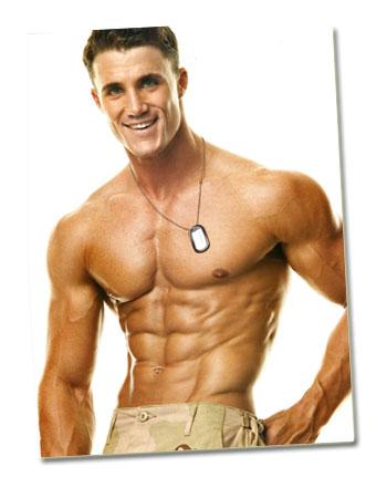 Schlankheitscrème für Männer