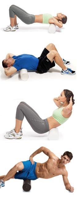 Rouleau de massage pour yoga/pilates/fitness