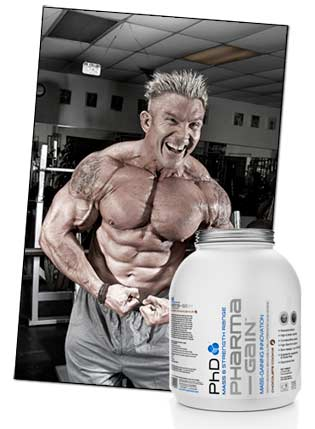 Weight gainer - Muskelvolumen Series