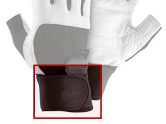 Lederhandschuhe mit Handgelenkschutz