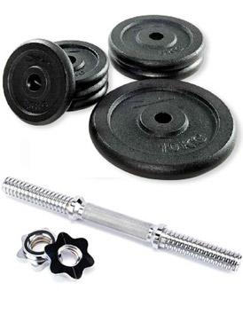 Set d halteres musculation de 20kg